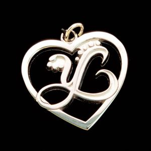 Picture of Sterling Silver Heart Charm