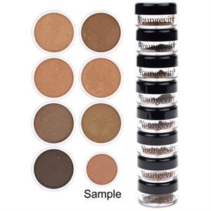 Picture of Mineral Makeup Sample Tower - Medium to Dark